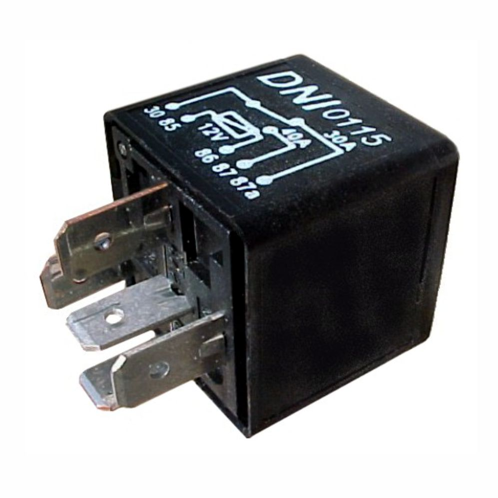 dni0115 - reversing auxiliary relay 40 / 30a - electronic injection - 12v