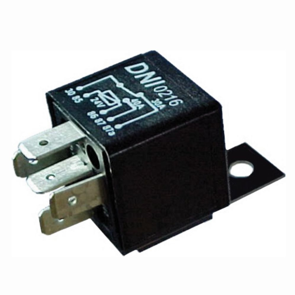 Dni0216 Universal Reversing Auxiliary Relay With Support 40 30a 24v Wiring Diagram